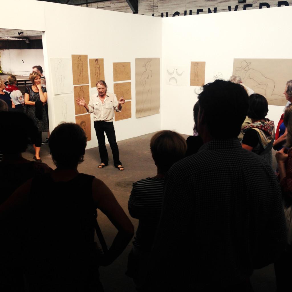 Workshoppräsentation Zuerst die Praxis dann Picasso - Zeichnerische Grundlagen zur menschlichen Figur / Claus Haensel