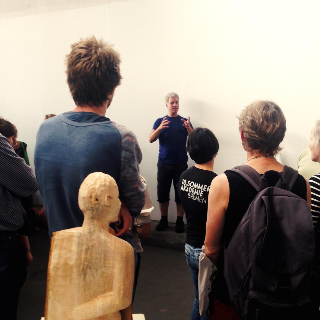 Workshoppräsentation Holzskulptur / Markus Keuler