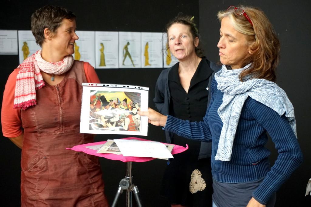 """Seminar """"Der goldene Schnitt"""" mit Gertrud Schleising"""