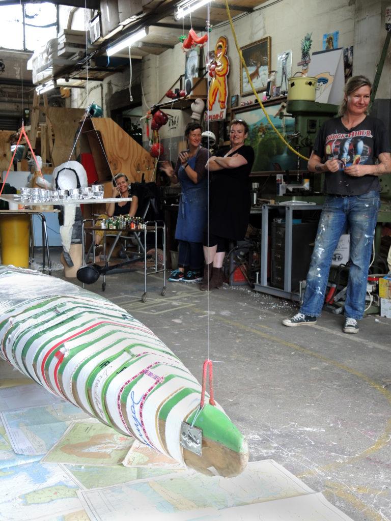 WILDWECHSEL - Plastik & Installation  19. Sommerakademie Bremen 2016