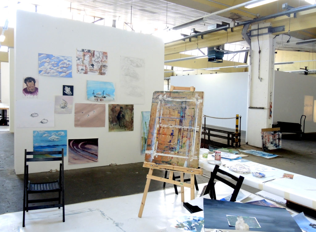 Malereiworkshop BELLE ALLIANCE  19. Sommerakademie Bremen 2016