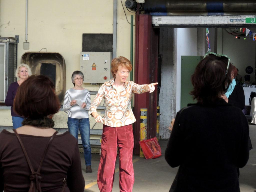 """Seminar """"Vocal Interplay"""" Vocale Improvisation 19. Sommerakademie Bremen 2016"""
